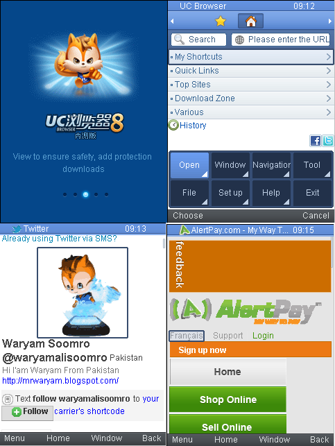 Dzebb uc browser