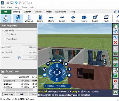 dreamplan_software desain arsitektur gratis terbaik untuk windows
