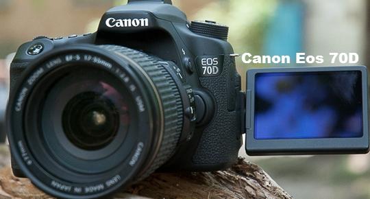 Spesifikasi dan Harga Kamera Canon Eos 70D Tahun 2015