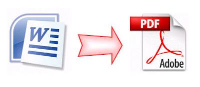 mengubah docx ke pdf