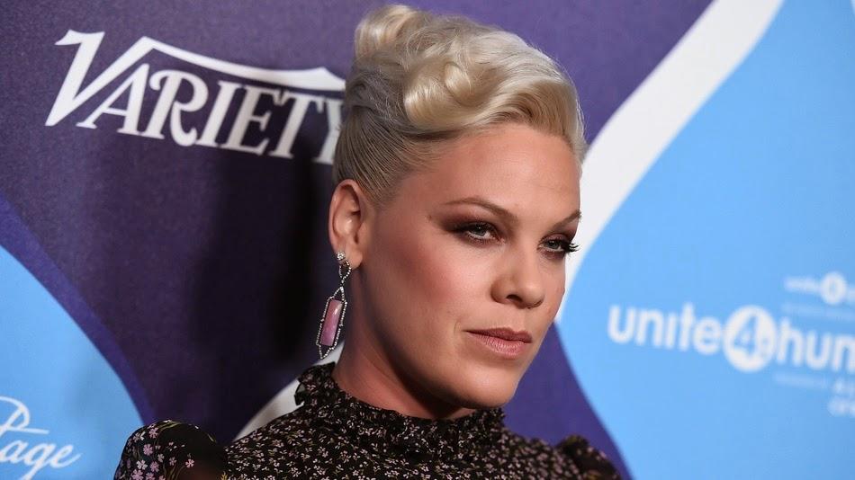 Pink na perfeição encerra críticas na Internet sobre seu peso