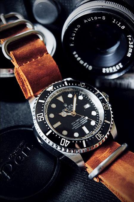 acf2d334a3a8d Relógio Seiko Masculino Com Pulseira De Couro Ssb202b1p1px