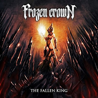 "Frozen Crown - ""The Shieldmaiden"" (lyric video) from the album ""The Fallen King"""