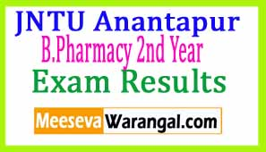 JNTU Anantapur B.Pharmacy 2nd Year 1st Sem R09/ R13 Supply Nov 2016 Exam Results