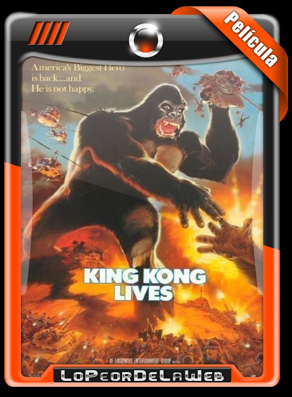 King Kong Lives (1986) | King Kong 2 720p H264 Dual Mega