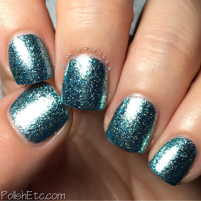 KBShimmer - Birthstone Collection - McPolish - Blue Topaz