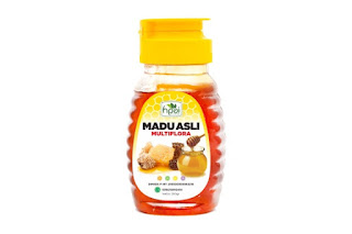MADU ASLI MULTIFLORA (Multiflora Natural Honey)