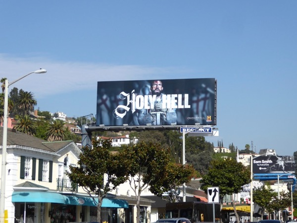 Knightfall Holy Hell billboard