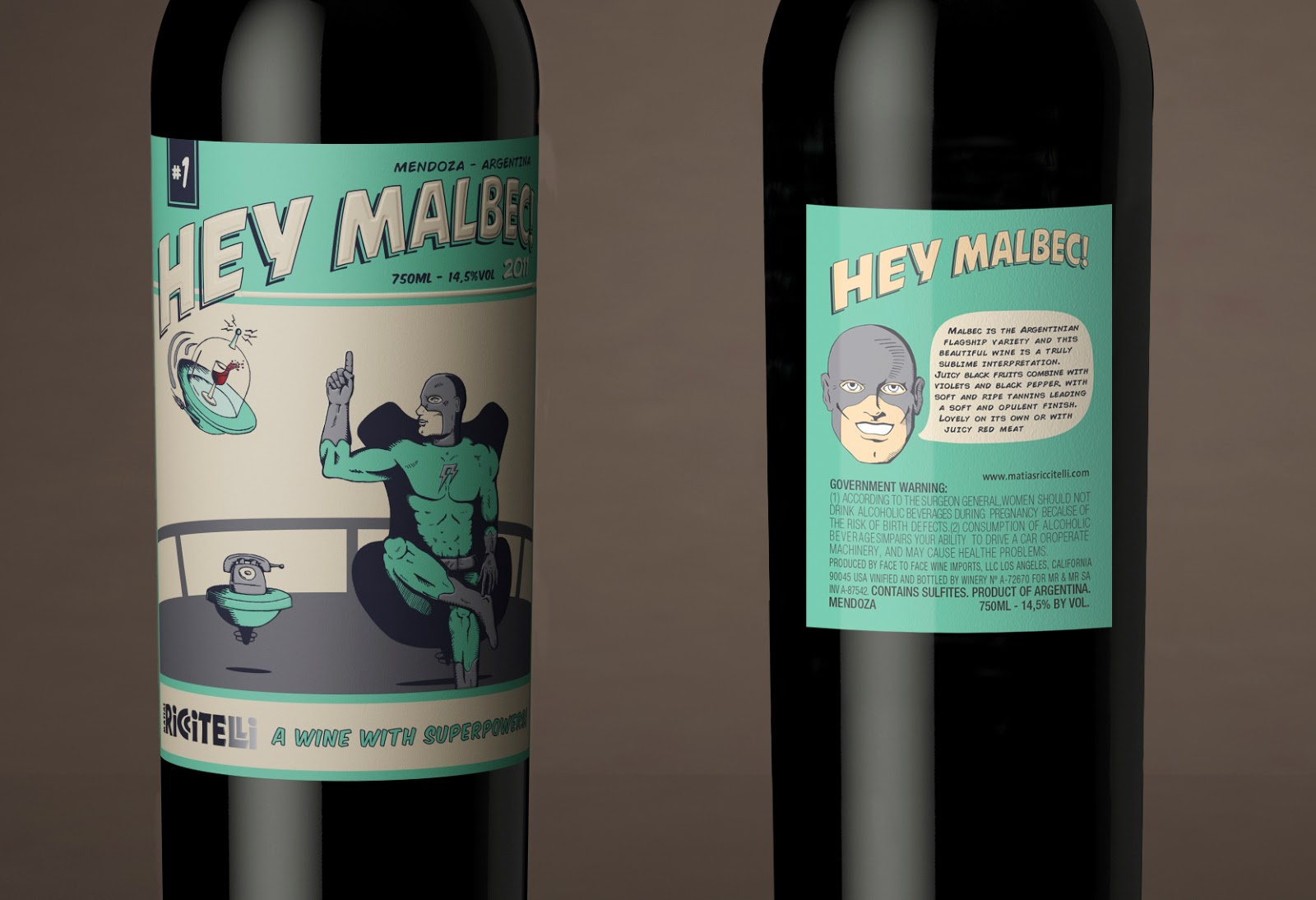 Hey Malbec On Packaging Of The World Creative Package