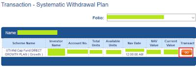 UTI Mutual Fund - Select Mutual Fund to start SWP