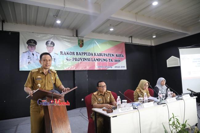 Jika Pembangunan Ingin Terwujud, Bappeda se-Lampung Harus Mampu Sinkronkan Dokumen Perencanaan