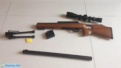 plastic airsoft sniper toy gun 2