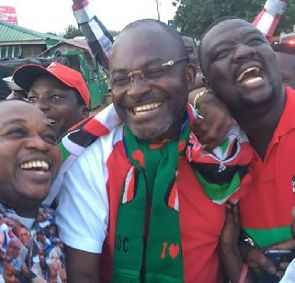 Ken Agyepong gate-crashes Sam George's campaign launch