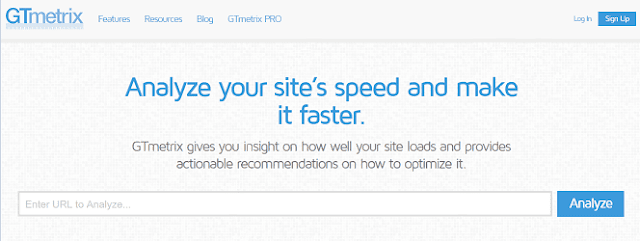 GTmetrix - Website Speed and Performance Optimization - Site Hız Testi