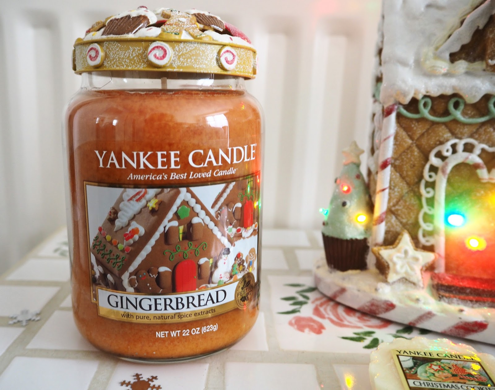 My Christmas Yankee Candles Gingerbread | Katie Kirk Loves
