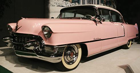 Elvis Pink Cadillac 1955 Fleetwood