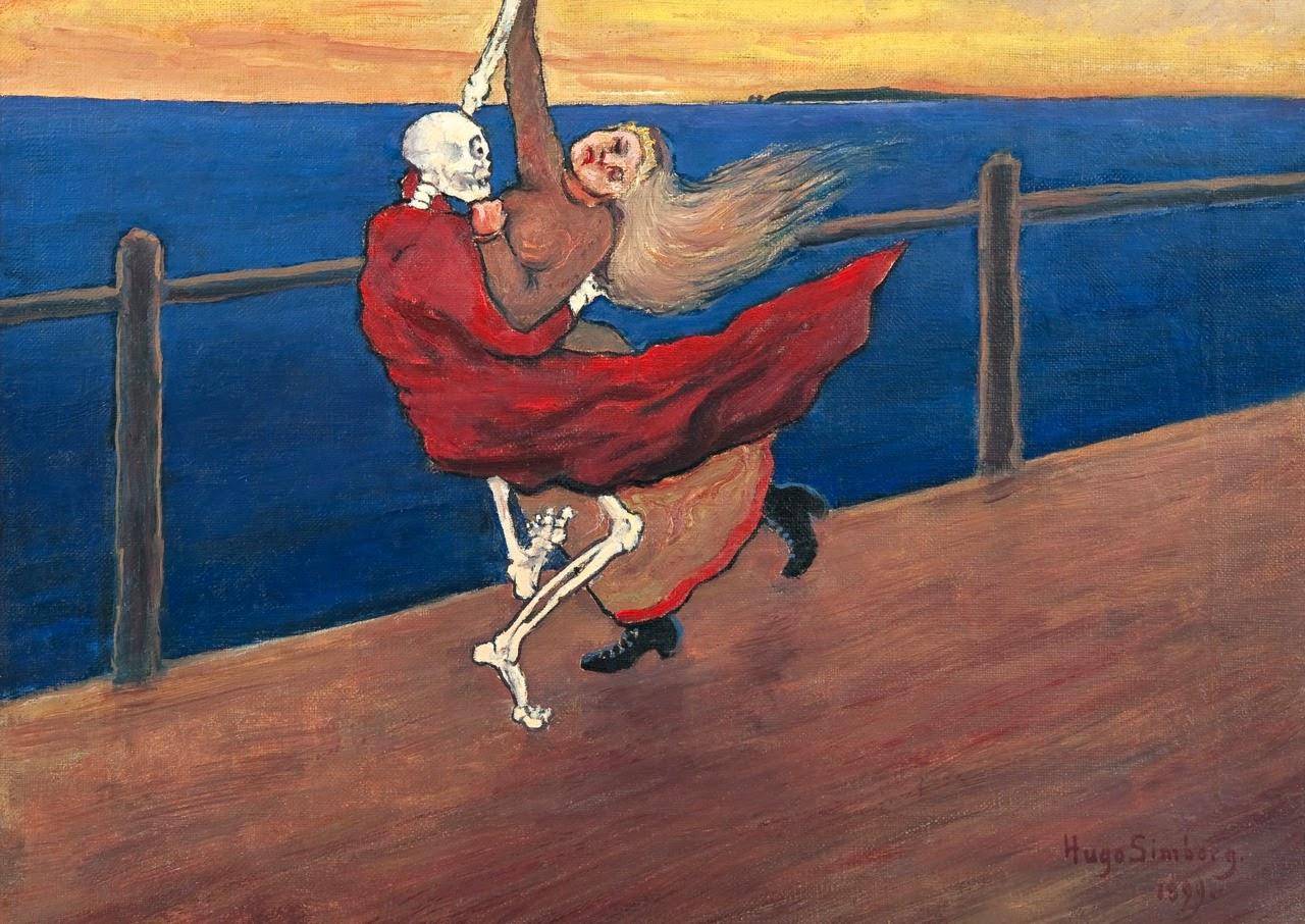 A Dança da Morte - Hugo Simberg e seus simbolismos ~ O artista ansiava por solidão e paz
