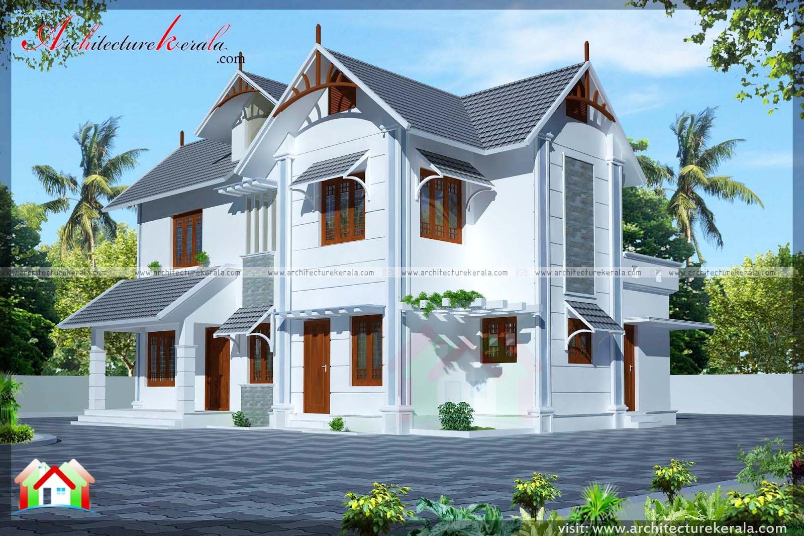 2 floor kerala home design with consultation room office room free kerala home plans. Black Bedroom Furniture Sets. Home Design Ideas