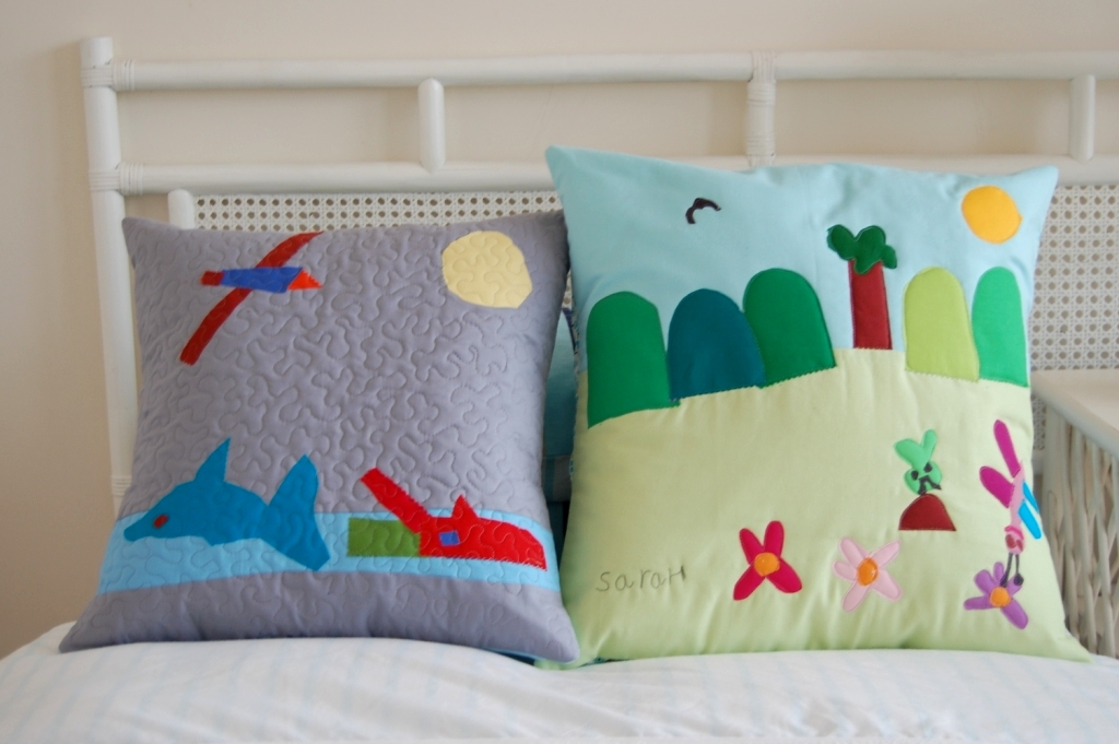 Kate Conklin Designs: Sewing with Kids - Cushion Tutorial