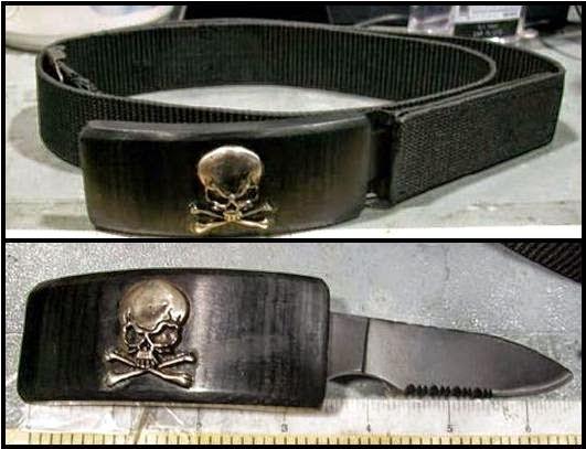 Belt Buckle Knife - Oakland (OAK)