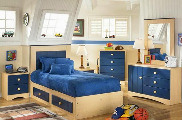 cama dormitorio infantil pequeño