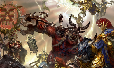 More Khorne with Prices for the Month's Releases....... and then some Tzeentch
