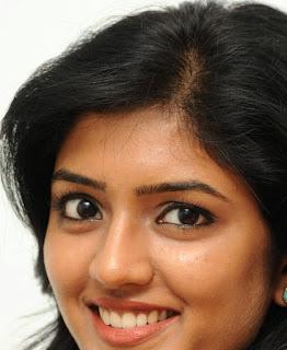Beautiful Telugu Girl Eesha Rebba Smiling Face Close Up Stills (3)