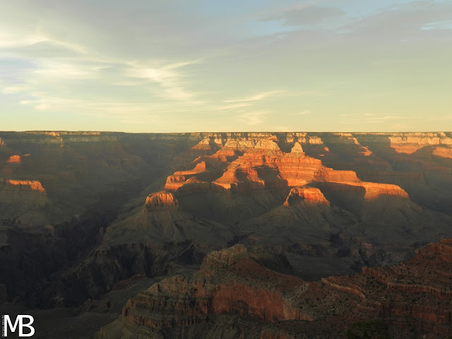grand canyon national park tramonto