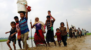 International demands to stop selling weapons to Myanmar army because of the Rohingya