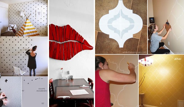 Do It Yourself Home Decorating Ideas: 26 DIY Cool And No-Money Decorating Ideas For Your Wall