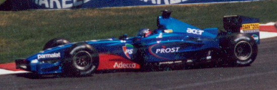 Gambar Mobil Balap F1 Prost 02