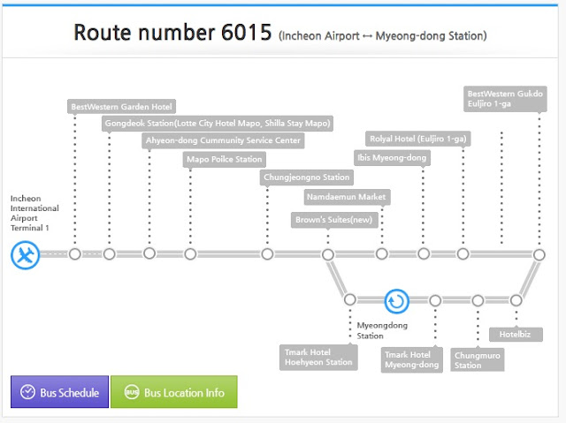 6015 Routes information