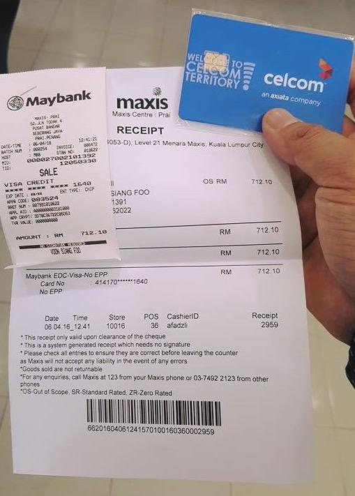 Lelaki Dedah Pakej Maxis Lebih Mahal Berbanding Pesaingnya