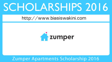 Zumper Apartments Scholarship 2016