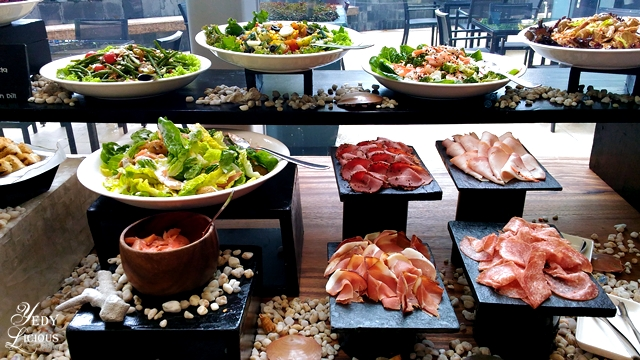 Cold Cuts Buffet at Spectrum Fairmont Hotel Makati Manila PH