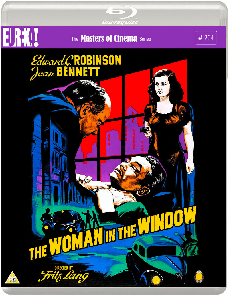 the woman in the window blu-ray