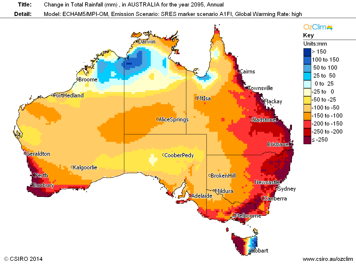 Exclimate Climate Modelling Australian Climate Impact