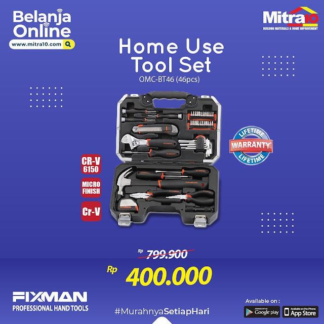 #Mitra10 - #Promo Diskon Hingga 48% Tool Set Lengkap 46 PC