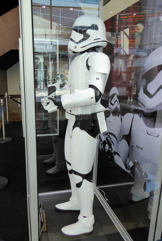 Star Wars First Order Stormtrooper costume detail
