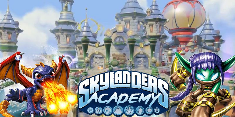 "Activision Blizzard's First TV show ""Skylanders Academy"""