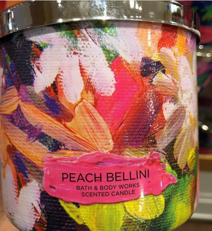 Life Inside The Page Bath And Body Works 2019 Spring Test Candle
