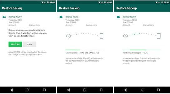 Cara Melakukan Backup/Cadangkan Pesan WhatsApp di HP Android
