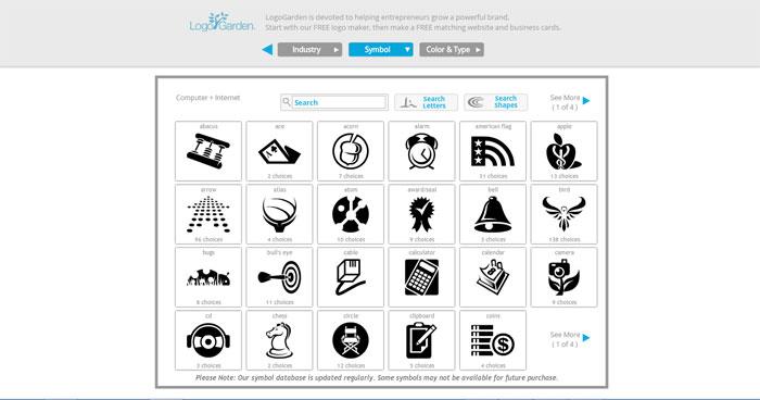 Cara Membuat Logo Online di Situs LogoGarden 3
