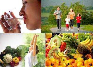Tips Menjaga Pola Makan Dan Hidup Sehat