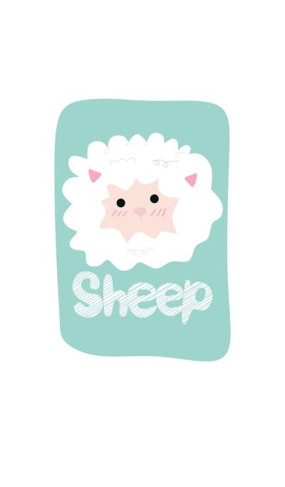 Simple Happy Sheep