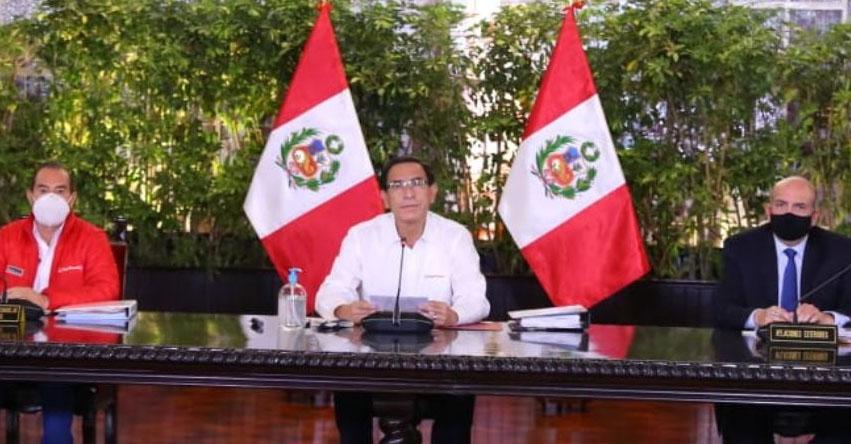 COMBATE DE ANGAMOS: El Jueves 8 de octubre será día laborable, anunció el Presidente Martín Vizcarra