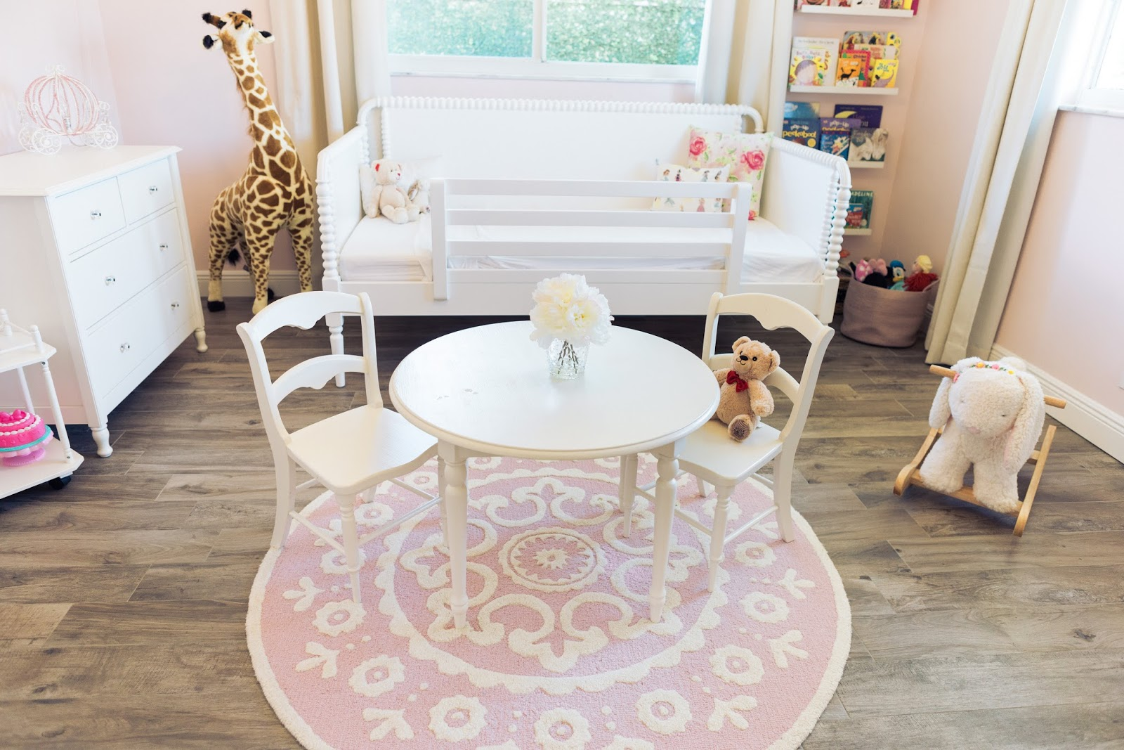 Big Girl Toddler Room by popular blogger The Celebration Stylist