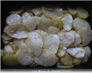 Libritos de lomo con Patatas al queso