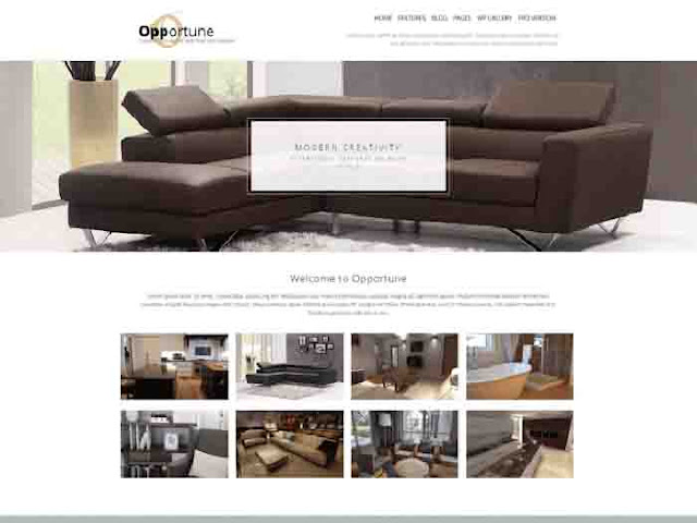 OPPORTUNE WordPress Template Free Download