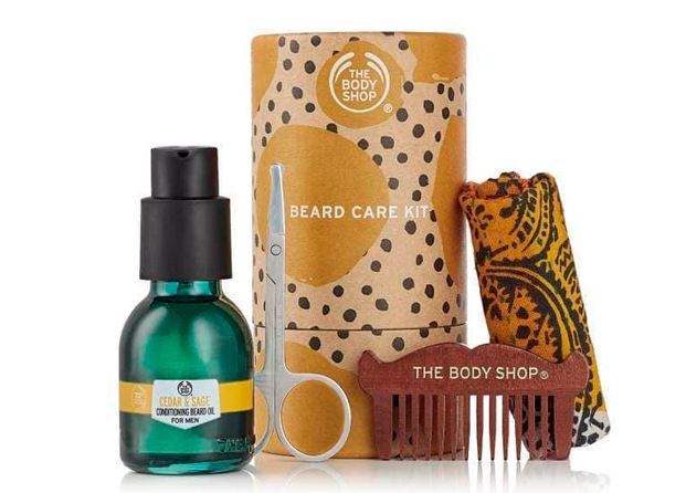 Kit de Cuidado de la Barba de The Body Shop